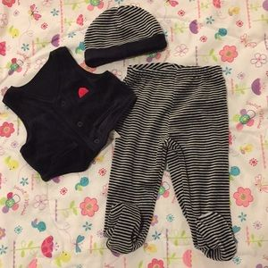 NWT Little me baby boy special occasion set, 9m